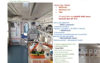 Rinaldi – IL TRENO SANITARIO MEDICAL EVACUATION INTENSIVE CARE TRAIN